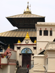 The main temple at Pashupati