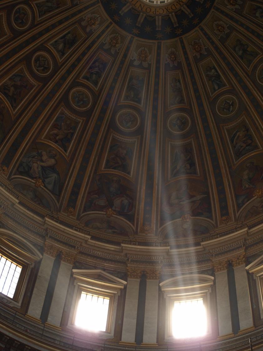 Sunlight through the Vatican