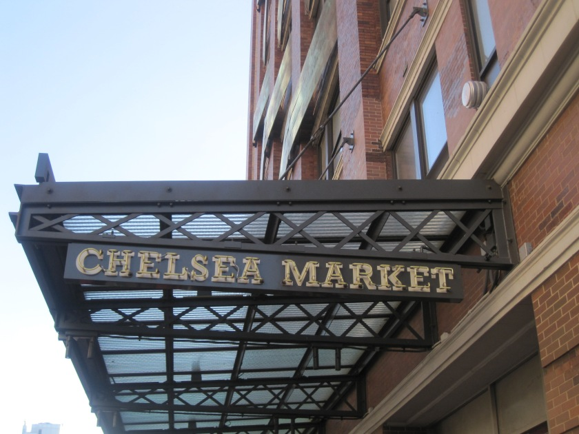 Chelsea Market is located on 9th Avenue between 15th and 16th Streets in NYC's Chelsea/Meatpacking District
