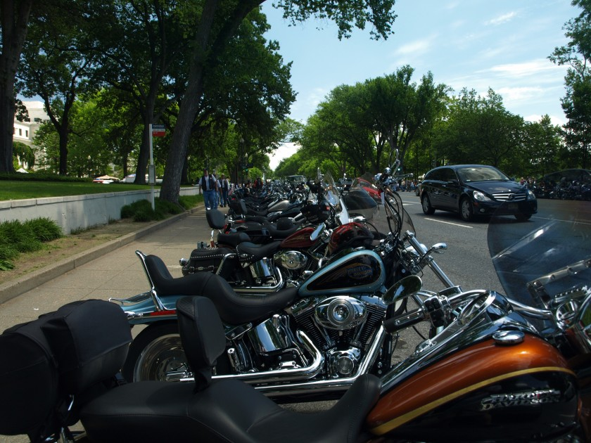 Memorial Day Weekend is associated with a lot of things. If you live in or around Washington DC one of those things is Rolling Thunder. This shot was from my first Rolling Thunder experience circa 2008