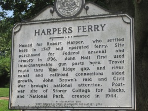 A little bit about Harpers Ferry