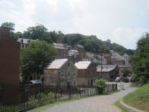 In a nutshell: lower Harpers Ferry