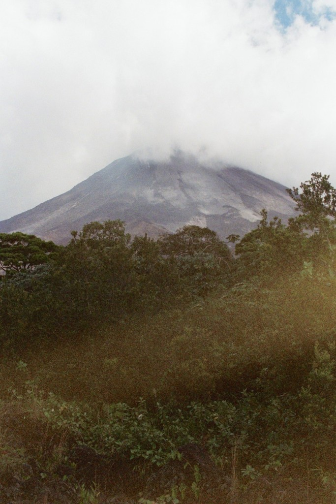 The Arenal Volcano in Costa Rica, circa 2006.