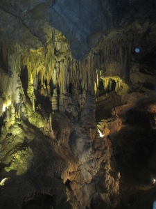 This is my favorite shot from Luray Caverns. Really interesting stuff for the science geeks in all of us.