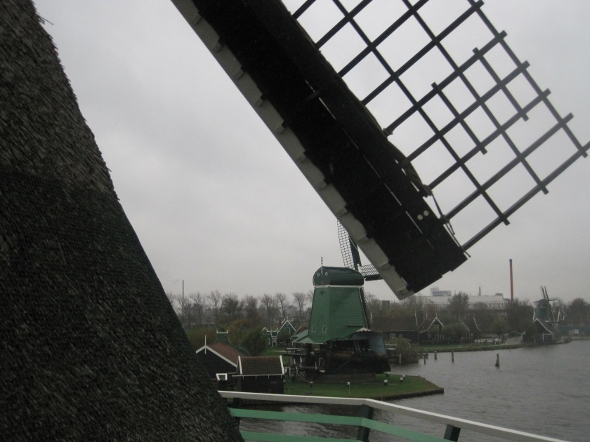 A half-day outside of Amsterdam, you'll find the gorgeous Zaanse Schans windmills. Worth the trip. Photo taken 2010 via Mr. Os.