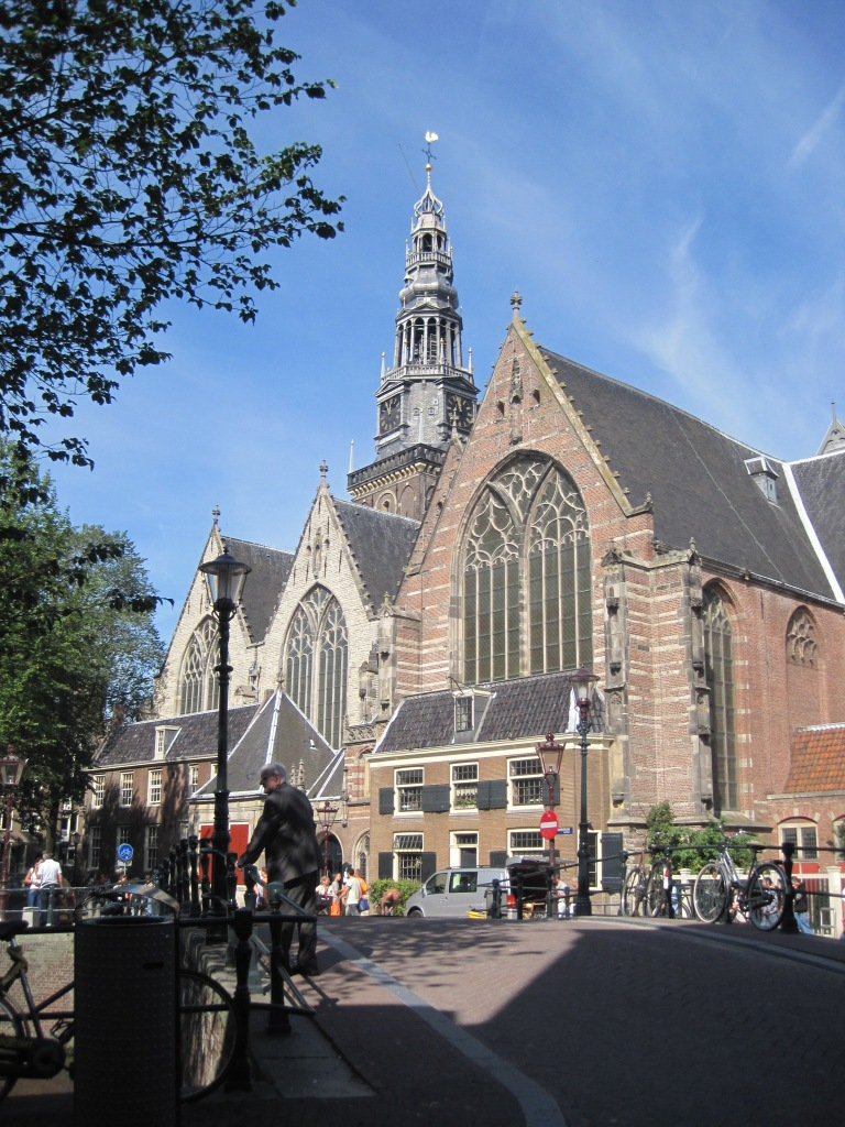 This church is in the middle of Amsterdam's Red Light District. I always thought that was strange until recently it occurred to me that serenity comes in all shapes, sizes and places.