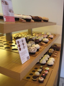Just a selection of the delicious cupcakes you'll find at Sprinkles on M Street in Georgetown