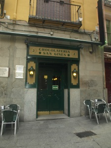 Chocolateria San Gines: *the* place for churros y chocolate in Madrind