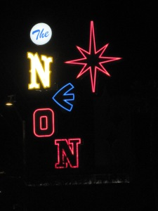 The Neon Museum in Las Vegas. My pick for a good night out!