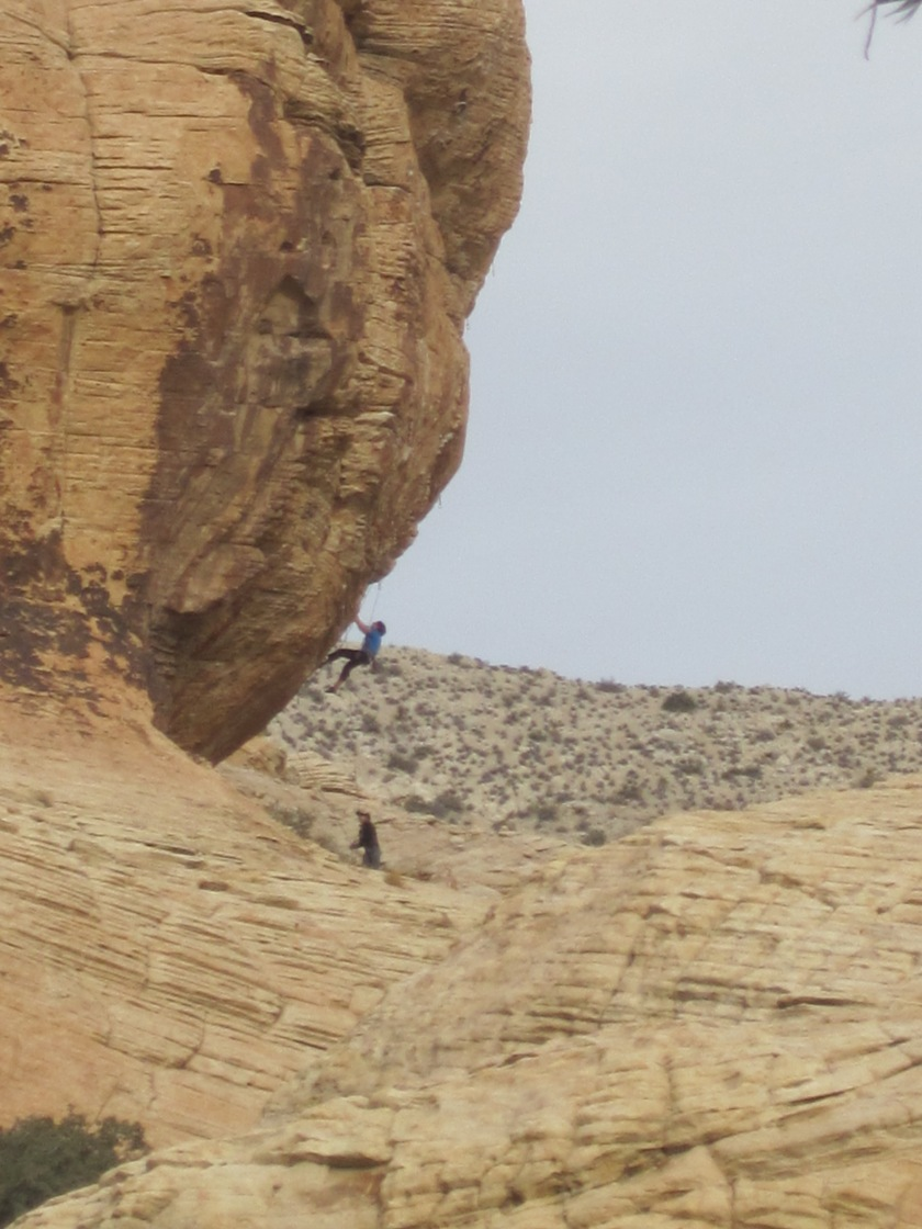 Rock Climbing in Red Rocks