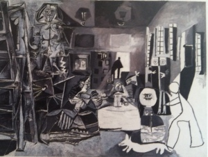 Picasso's Las Meninas, a highlight of the museum.