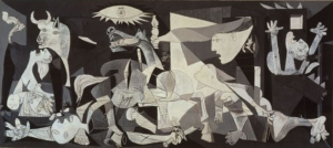 Picasso's Guernica (image compliments of Wikipedia)