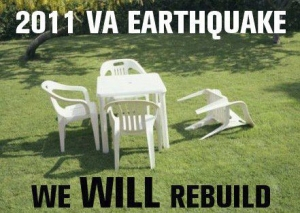 Who says Washingtonian's don't have a sense of humor? Post 2011 earthquake gifs.