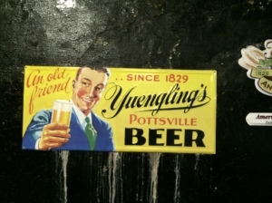 Vintage Yuengling ads.
