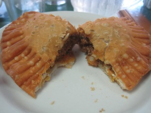 The Beef Empanada at El Pub in Miami, FL.