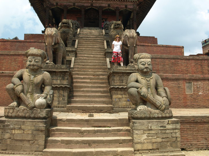 Bhaktapur Durbar Square in Nepal. Absolutely heartbreaking to think future travelers  won't see the square.