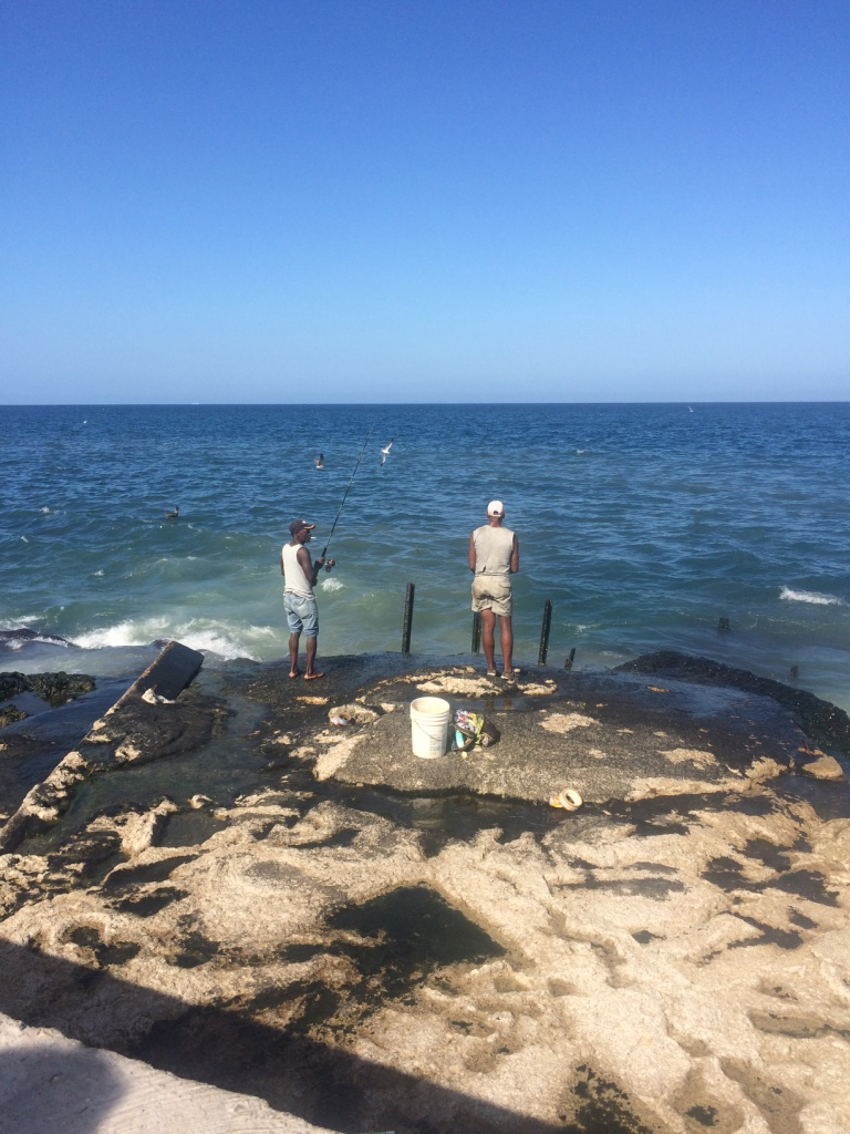 Fishing Off the Malecón